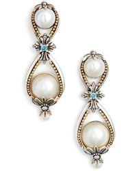 Konstantino - Pearl Drop Earrings - Lyst