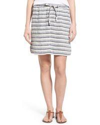 Caslon - Caslon Easy Drawstring Skirt - Lyst