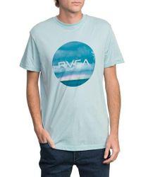 RVCA - Horizon Motors T-shirt - Lyst