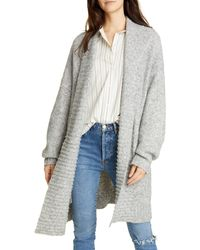 Joie Gwenna Open Front Cardigan - Gray