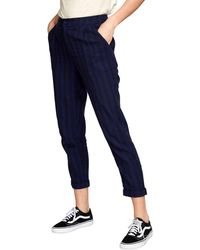 RVCA Womens Scout Mid Rise Trouser Pant