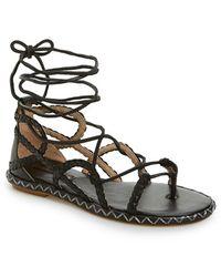 BCBGMAXAZRIA 'maye' Gladiator Sandal - Black