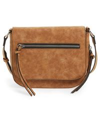 Phase 3 - Zip Faux Leather Crossbody Bag - Lyst