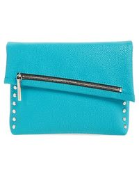 Phase 3 - Studded Asymmetrical Flap Clutch - Lyst