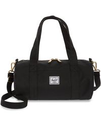 Herschel Supply Co. Mini Sutton Canvas Duffle Bag - Black