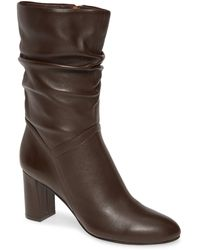 David Tate Slouch Boot - Brown