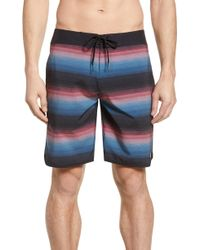 Travis Mathew Party Wave Board Shorts - Blue