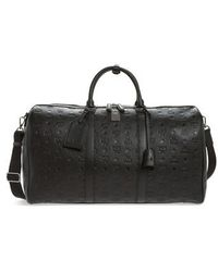 MCM - Ottomar Leather Duffel Bag - Lyst