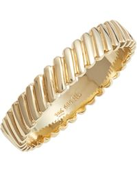 Bony Levy - Oblique Beveled Stackable Ring (nordstrom Exclusive) - Lyst