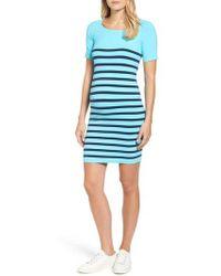 Tees by Tina - 'nautical' Short Sleeve Maternity Dress - Lyst