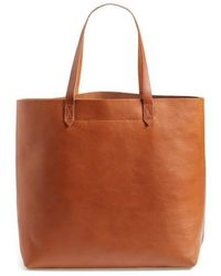 Madewell - 'the Transport' Leather Tote - Lyst
