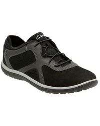 Clarks - Aria Paneled Sneakers - Lyst