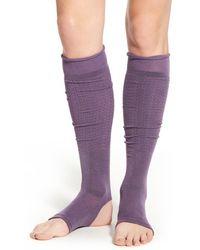 Yummie By Heather Thomson - Cutout Leg Warmers - Lyst