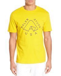 Poler Stuff - 'tent' Long Sleeve Graphic T-shirt - Lyst