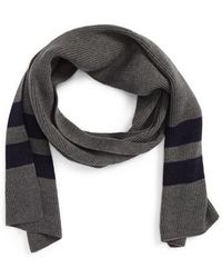 Calibrate - Ribbed Stripe Scarf - Lyst