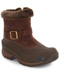 The North Face 'Chilkat III' Waterproof Insulated Boot - Brown