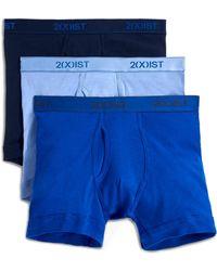 2xist - 3-pack Cotton Boxer Briefs - Lyst