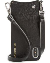 Bandolier - Emma Leather Iphone X/xs Case - Lyst