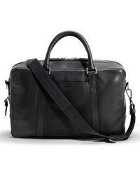 Shinola - Signature Leather Slim Briefcase - - Lyst