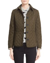 33bc0596e Burberry Ashurst Quilted Shell Jacket in Black - Lyst
