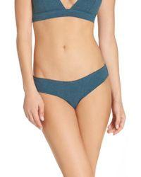 Honeydew Intimates | Rib Knit Bikini | Lyst