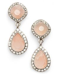 Samantha Wills 'new York Kiss' Double Drop Earrings - Natural