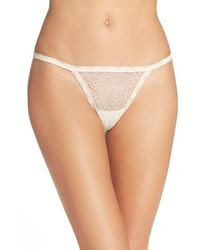 Chelsea28 Nordstrom | Lace String Thong | Lyst