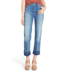 Mother 'the Maverick' Cuff Crop Jeans