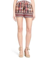 Ella Moss | 'citra' High Rise Pull-on Shorts | Lyst