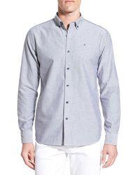 Victorinox | Victorinox Swiss Army 'vogelberg' Slim Fit Oxford Sport Shirt | Lyst