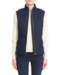 Burberry Brit - 'Tindale' Quilted Vest - Lyst
