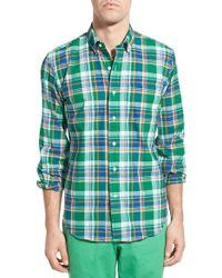 Duck Head - 'elm' Regular Fit Madras Plaid Sport Shirt - Lyst
