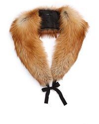 Ellery - Bouchet Fox Fur Stole - Lyst