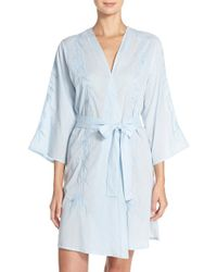 Lucky Brand - Embroidered Robe - Lyst