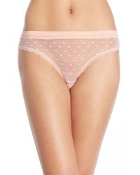 Honeydew Intimates | 'maddie' Swiss Dot Bikini | Lyst