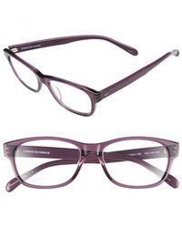 Corinne Mccormack - 'zooey' 53mm Reading Glasses - Lilac - Lyst