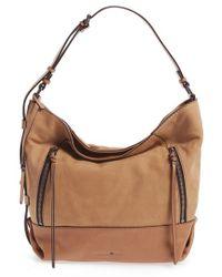 Treasure & Bond - Double Zip Leather Hobo Bag - Lyst