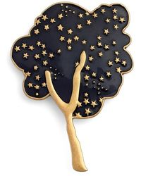 Marc Jacobs - 'tree' Guilloche Enamel Brooch - Lyst