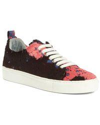 Marques'Almeida - Genuine Calf Hair Sneaker - Lyst