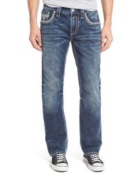 Rock Revival | Straight Fit Jeans | Lyst