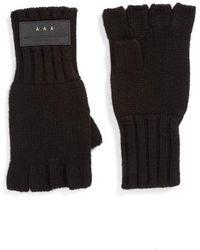John Varvatos - 3gg Fingerless Gloves - Lyst