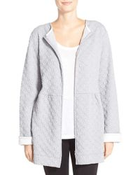 Carole Hochman - Front Zip Quilted Jacket - Lyst