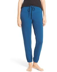 Midnight By Carole Hochman - Terry Lounge Pants - Lyst