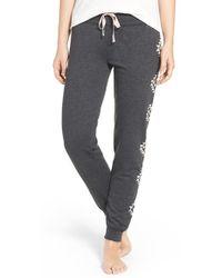 Cozy Zoe - Graphic Cotton Blend Sweatpants - Lyst