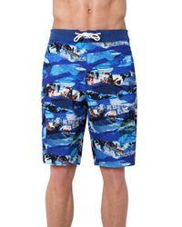 Rainforest - 'wave Torrent' Board Shorts - Lyst