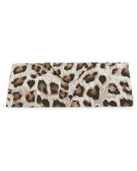 Corinne Mccormack - Leopard Print Triangle Reading Glasses Case - Lyst