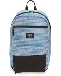 Lyst - Adidas Originals  national Plus  Backpack in Black for Men 7708b1886d068