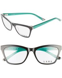 L.A.M.B. - 51mm Optical Geometric Glasses - Lyst
