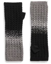 Frye Colorblock Arm Warmers - Black