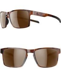 adidas - Wayfinder 56mm Sport Sunglasses - Lyst